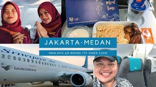 JOSS! Sriwijaya Air SJ010 Jakarta - Medan | Makanan & Wifi Gratis + GIVEAWAY!