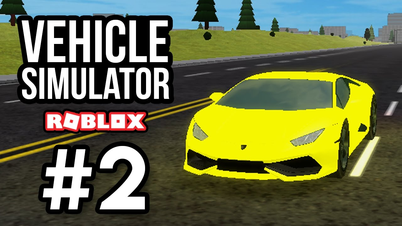 500+ MPH LAMBORGHINI - Roblox Vehicle Simulator #2 - YouTube