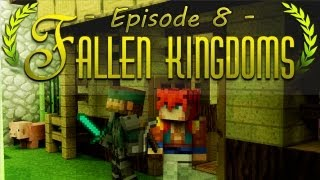 Fallen Kingdoms | On commence la muraille - Ep. 8 (Gotaga & Luffy117Wright)
