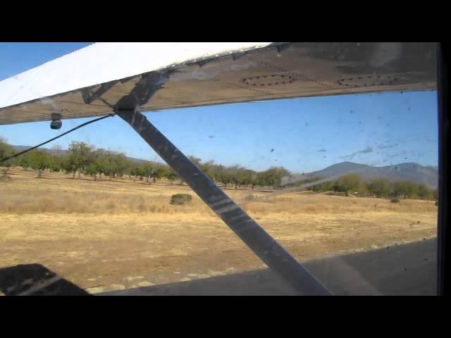1956 Dehavilland Beaver take off from Lampson airport
