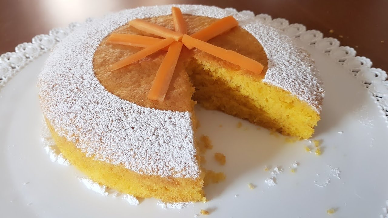 Torta Di Carote Ricetta Di Benedetta Parodi Senza Lattosio Senza