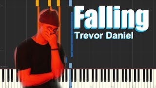 Falling - Trevor Daniel (Piano Tutorial)