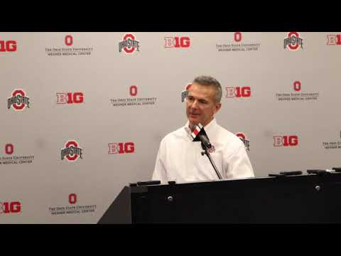 Urban Meyer discusses Rose Bowl bid after Big Ten Championship win