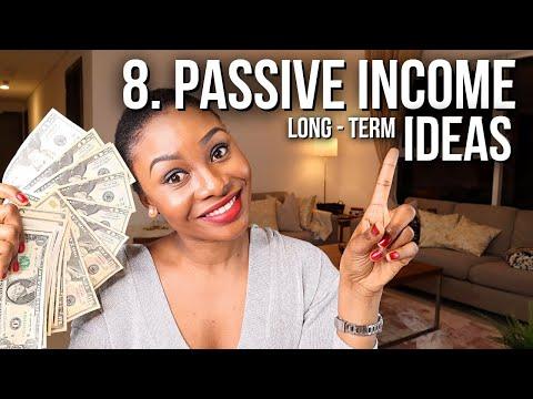 8 Ways To Make PASSIVE INCOME IN 2021 (Easy Side Hustles & Passive Income Ideas)