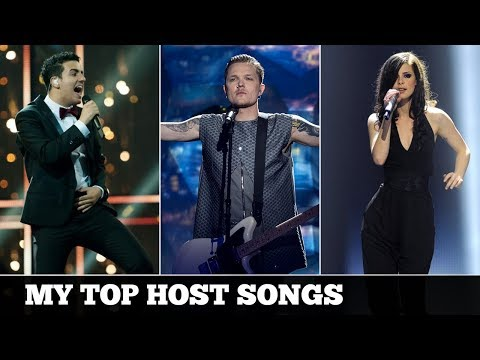 Eurovision HOST SONGS (2000-2017) | My Top 18
