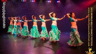 2015 World Belly Dance Festival - Professional Troupe Category Champions, Bellydance Extraordinaire
