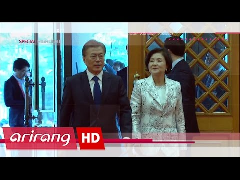 [Special Highlight] The New President Moon Jae-in heading to Cheong Wa Dae