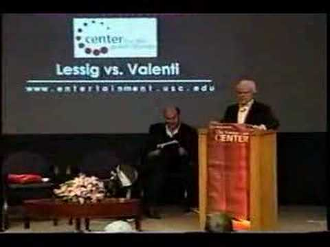 Lessig vs. Valenti-Creativity, Commerce and Culture