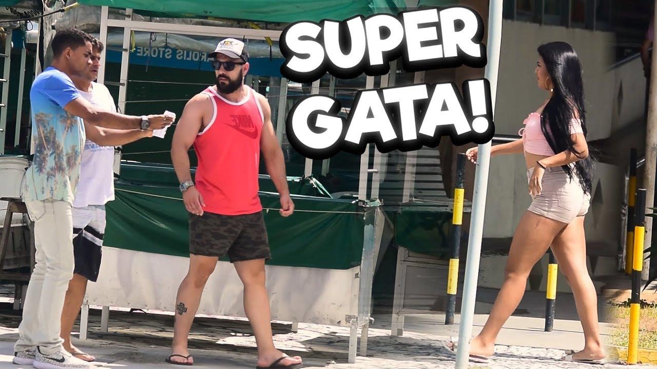 SUPER GATA FAZENDO O MUDO VOLTAR A FALAR