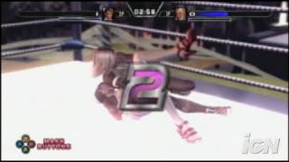 Rumble Roses XX Xbox 360 Gameplay - Hot Move!