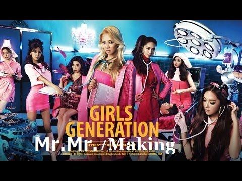 1080p [SNSD] 少女時代 / Mr.Mr. - Making [Music Video] 2014