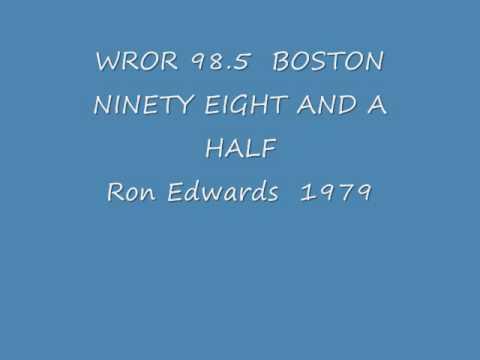 WROR 98.5 Boston MA   Ron Edwards    December 1979.wmv