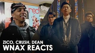 ZICO - BERMUDA TRIANGLE [ FT. CRUSH, DEAN ] REACTION VIDEO #wnax