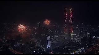 OFFICIAL Burj Khalifa, DUBAI - 2015 New Years Fireworks Show [HD]