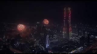 OFFICIAL Burj Khalifa, DUBAI - 2015 New Years Fireworks Show [HD]