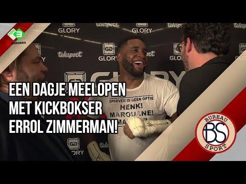 Bureau Sport loopt mee met Errol Zimmerman tijdens kickboksgala GLORY in Amsterdam