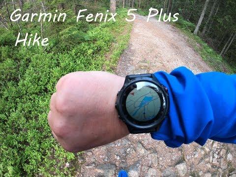 Garmin Fenix 5 Plus Hike 4K
