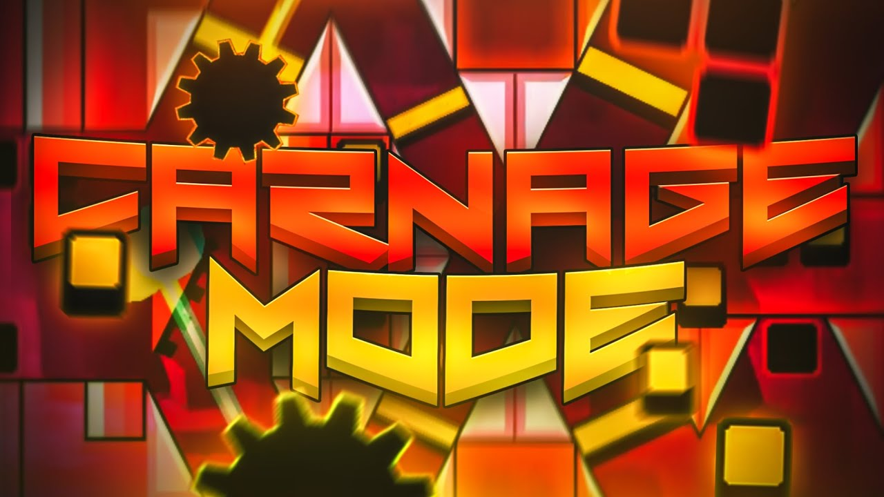 [Extreme Demon Alphabet #3] Carnage Mode by Findexi and more | Geometry Dash
