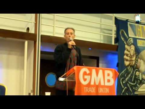 Economic democracy & alternatives to austerity - GMB NW union, 8 October 2016