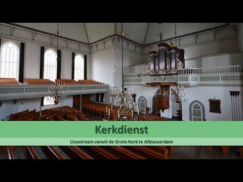 Grote Kerk Alblasserdam 12-01-2020 VM (her)bevestiging Ambtsdragers