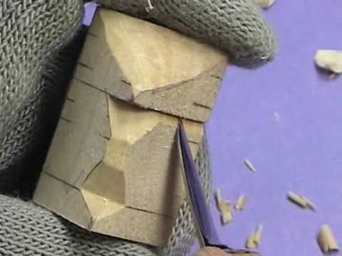 how to carving wood