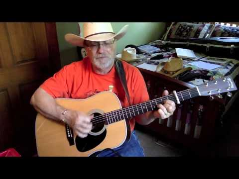 1840 -  Crazy Arms -  Ray Price vocal & acoustic guitar cover & chords