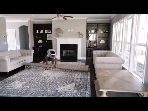 CLEAN WITH ME| DETAILED LIVING ROOM/ENTRYWAY + HOME DECOR HAUL