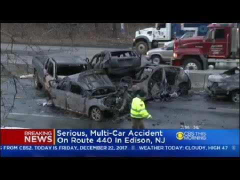 Serious, Multi-Car Accident On Route 440 In Edison, NJ