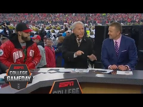 Lee Corso 'Head Gear Pick': Ohio State vs. Michigan and more with Bryce Harper | College GameDay