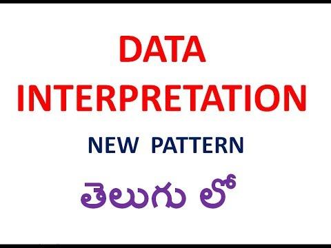 DATA INTERPRETATION NEW PATTERN IN TELUGU || TIME & WORK