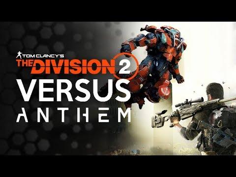 Division 2  Versus Anthem - Success Versus Failure