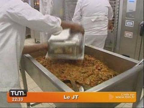 HCL : la plus grande cuisine hospitalière de France (Lyon)