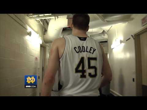 Notre Dame Men's Basketball – USF Post Game Locker Room Celebration