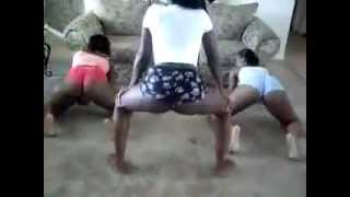 Wild Jamaican Girls Shaking Their Ass