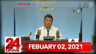 24 Oras Express: February 2, 2021 [HD]