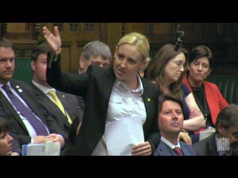 Mhairi Black: SNP MP's maiden speech in full