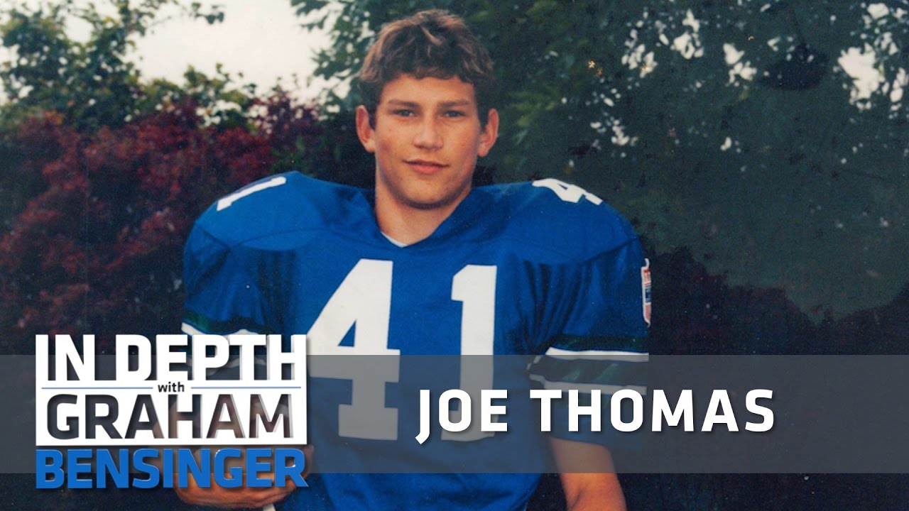 Joe Thomas' massive puberty growth spurt