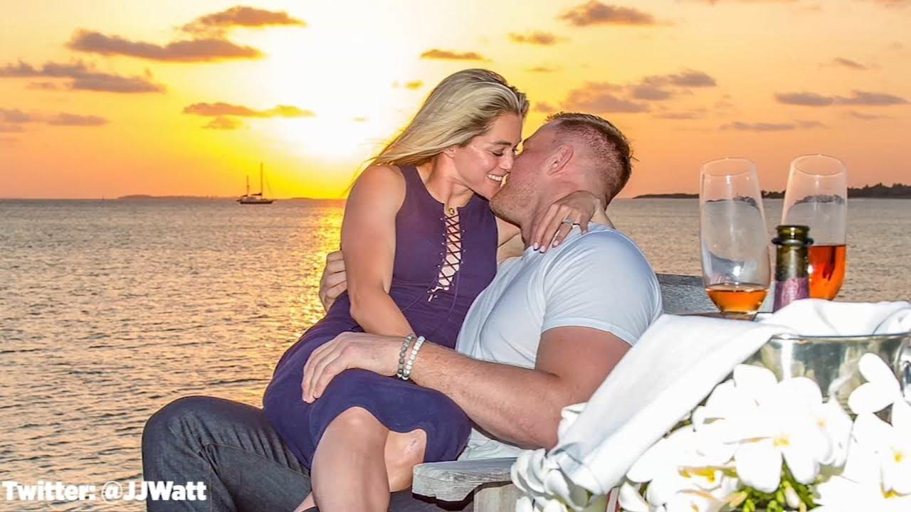 As Seen On Social: J.J. Watt and Kealia Ohai get married