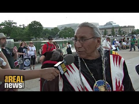 Chief Arvol Looking Horse: People's Climate March