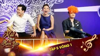 Mặt nạ ngôi sao | Tập 5 vòng 1: Quang Vinh, Tóc Tiên liên tục bị Mai Ly áp đảo tinh thần
