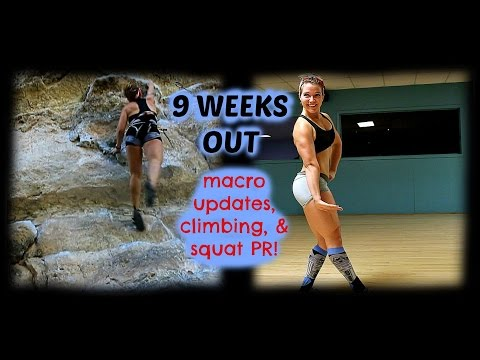 JTTS EP. 24: 9 WEEKS OUT - MACRO CHANGES & SQUAT PR!