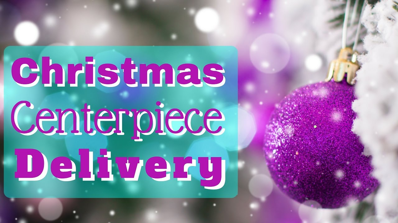 Christmas floral centerpieces delivery youtube