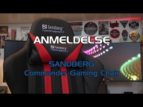 ANMELDELSE: Sandberg - Commander Gaming Chair - Tweak.dk