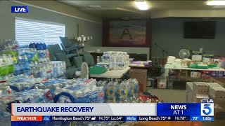 Volunteers Help Deliver Water to Trona After SoCal Quake