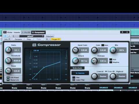 Compressing Kick Drum - The Release/Tone Knob