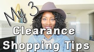 Clearance Shopping Tips