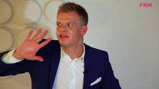 Интервью с ведущим Антоном Поповым для FRM TV