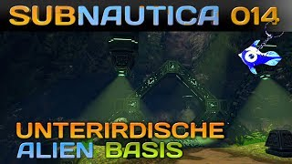 SUBNAUTICA [014] [Unterirdische Alien Base] Let's Play Gameplay Deutsch German thumbnail