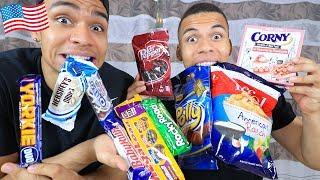 Süßigkeiten Test - AMERIKA 2 !!! | PrankBrosTV