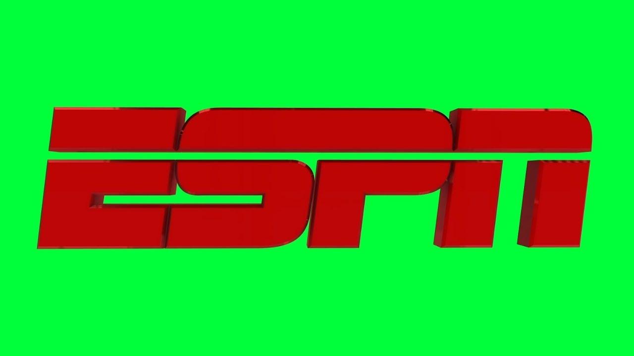 Espn Green Screen Logo Loop Chroma Animation Youtube